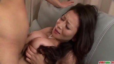 uber-sexy asian mom reaches orgasm during romp with her step sonny - More at Japanesemamas com