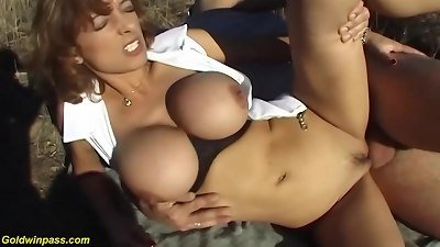 aggressive first time outdoor sex for mommy